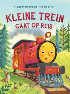 Kleine trein gaat op reis